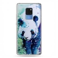Huawei Mate 20 - silikonowe etui na telefon - Miś panda watercolor.