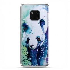 Huawei Mate 20 Pro - silikonowe etui na telefon - Miś panda watercolor.