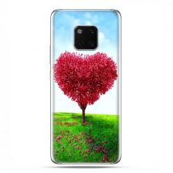 Huawei Mate 20 Pro - silikonowe etui na telefon - Serce z drzewa.