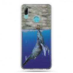 Huawei P Smart 2019 - silikonowe etui na telefon - Wieloryb