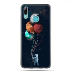 Huawei P Smart 2019 - silikonowe etui na telefon - Planeta ziemia balonowa