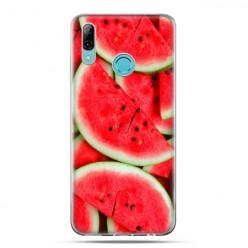 Huawei P Smart 2019 - silikonowe etui na telefon -Soczyste arbuzy