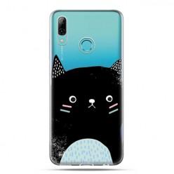 Huawei P Smart 2019 - silikonowe etui na telefon - Słodki kotek
