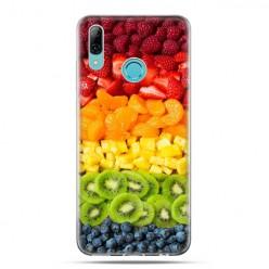 Huawei P Smart 2019 - silikonowe etui na telefon - smakowite owoce