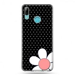 Huawei P Smart 2019 - silikonowe etui na telefon - Nocna stokrotka