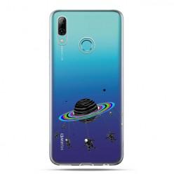 Huawei P Smart 2019 - silikonowe etui na telefon - Kosmiczna karuzela