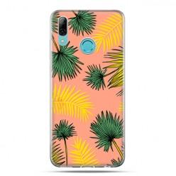 Huawei P Smart 2019 - silikonowe etui na telefon - Kolorowe Palmy