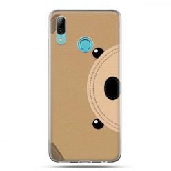 Huawei P Smart 2019 - silikonowe etui na telefon - Pluszowy Misio
