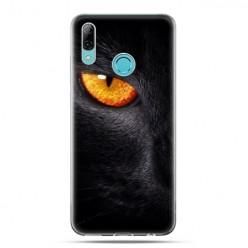 Huawei P Smart 2019 - silikonowe etui na telefon - Nocne spojrzenie