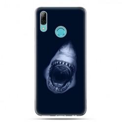Huawei P Smart 2019 - silikonowe etui na telefon - Starcie z rekinem