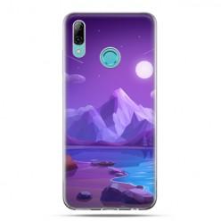 Huawei P Smart 2019 - silikonowe etui na telefon - Bajkowy wulkan
