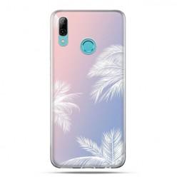 Huawei P Smart 2019 - silikonowe etui na telefon - Egzotyczne palmy