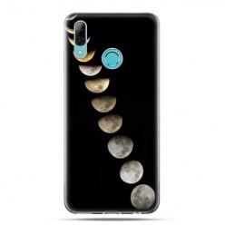 Huawei P Smart 2019 - silikonowe etui na telefon - Fazy księżyca