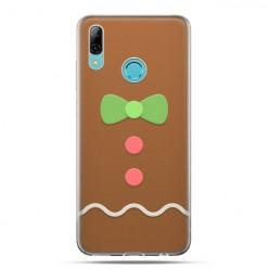Huawei P Smart 2019 - silikonowe etui na telefon - Ciasteczkowy
