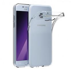 Samsung Galaxy A5 2017 - silikonowe etui na telefon Clear Case - przezroczyste.