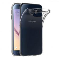 Samsung Galaxy S6 - silikonowe etui na telefon Clear Case - przezroczyste.