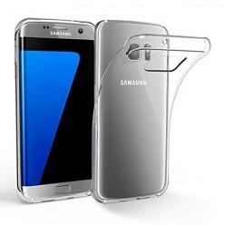 Samsung Galaxy S7 Edge - silikonowe etui na telefon Clear Case - przezroczyste.