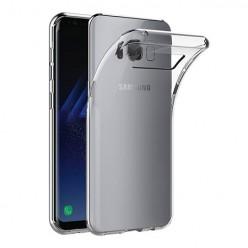 Samsung Galaxy S8 - silikonowe etui na telefon Clear Case - przezroczyste.