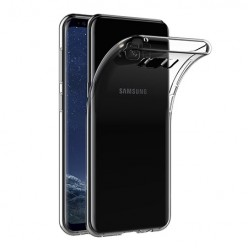 Samsung Galaxy S8 Plus - silikonowe etui na telefon Clear Case - przezroczyste.