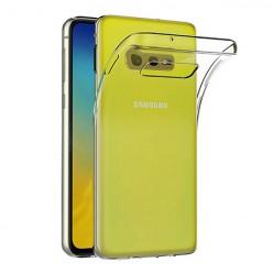 Samsung Galaxy S10e - silikonowe etui na telefon Clear Case - przezroczyste.