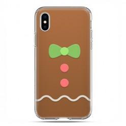 Apple iPhone X / Xs - etui na telefon - Ciasteczkowy
