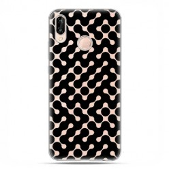 Huawei P20 Lite - etui nakładka na telefon Czarny labirynt.