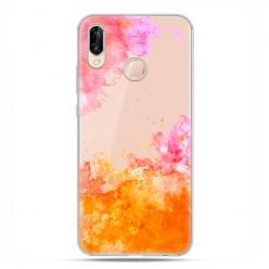 Huawei P20 Lite - etui nakładka na telefon Watercolor splash.