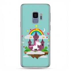 Samsung Galaxy S9 - etui na telefon z grafiką - Tęczowy jednorożec.