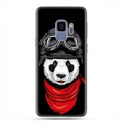 Samsung Galaxy S9 - etui na telefon z grafiką - Panda w czapce.