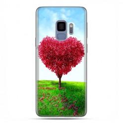 Samsung Galaxy S9 - etui na telefon z grafiką - Serce z drzewa.