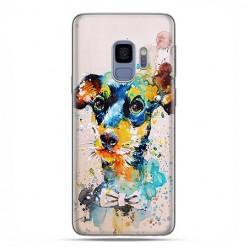 Samsung Galaxy S9 - etui na telefon z grafiką - Szczeniak watercolor.