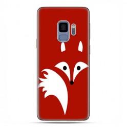 Samsung Galaxy S9 - etui na telefon z grafiką - Czerwony lisek.