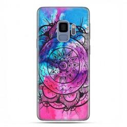 Samsung Galaxy S9 - etui na telefon z grafiką - Rozeta watercolor.