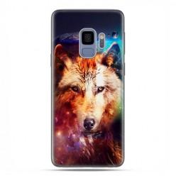 Samsung Galaxy S9 - etui na telefon z grafiką - Wilk z galaktyki.