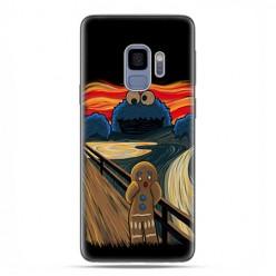 Samsung Galaxy S9 - etui na telefon z grafiką - Parodia obrazu krzyk.