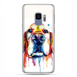 Samsung Galaxy S9 - etui na telefon z grafiką - Pies labrador watercolor.