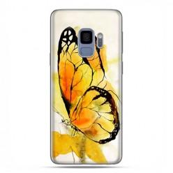 Samsung Galaxy S9 - etui na telefon z grafiką - Motyl watercolor.