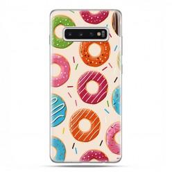 Samsung Galaxy S10 - etui na telefon z grafiką - Kolorowe pączki.