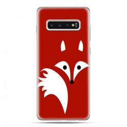 Samsung Galaxy S10 - etui na telefon z grafiką - Czerwony lisek.