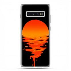 Samsung Galaxy S10 - etui na telefon z grafiką - Zachodzące słońce.