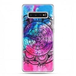 Samsung Galaxy S10 - etui na telefon z grafiką - Rozeta watercolor.