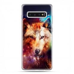 Samsung Galaxy S10 - etui na telefon z grafiką - Wilk z galaktyki.