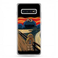 Samsung Galaxy S10 - etui na telefon z grafiką - Parodia obrazu krzyk.