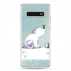 Samsung Galaxy S10 - etui na telefon z grafiką - Polarne zwierzaki.