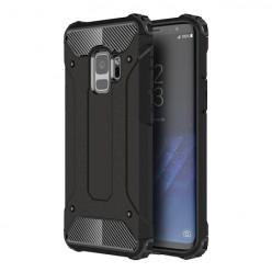 Pancerne etui na Samsung Galaxy S9 G960 - kolor czarny grafitowy.