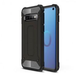 Pancerne etui na Samsung Galaxy S10 - kolor czarny grafitowy.