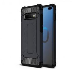 Pancerne etui na Samsung Galaxy S10 Plus - kolor czarny grafitowy.