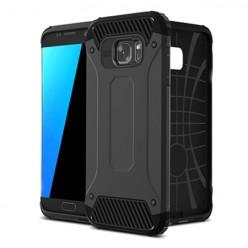 Pancerne etui na Samsung Galaxy S7 - SM-G930F - kolor czarny grafitowy.