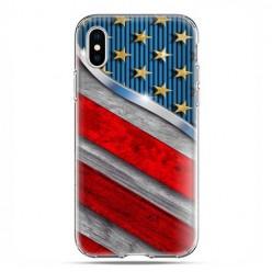 Apple iPhone X / Xs - etui na telefon - Amerykańskie barwy