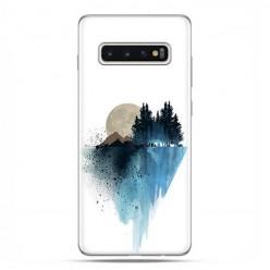 Samsung Galaxy S10 Plus - etui na telefon z grafiką - Górski krajobraz.
